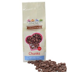 Grosses pépites de chocolat au lait (chunks) - 350 g