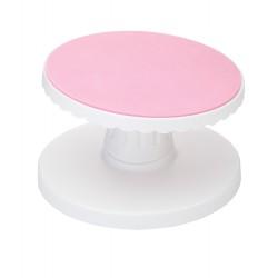 Plateau à gâteau rotatif et inclinable