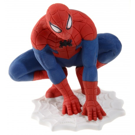 Figurine gâteau Spiderman 3D en sucre