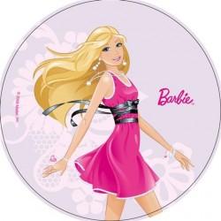 Disque azyme Barbie 21 cm - Différents modèles