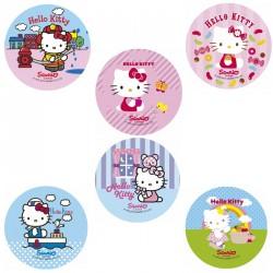 Disque azyme Hello Kitty 14,5cm - Différents modèles