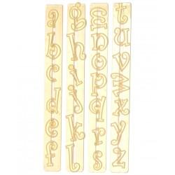 """Emporte-pièce alphabet lettres minuscules """"Funky"""""""