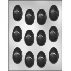 """Moule à chocolat 3D """"œuf décoré et support"""""""