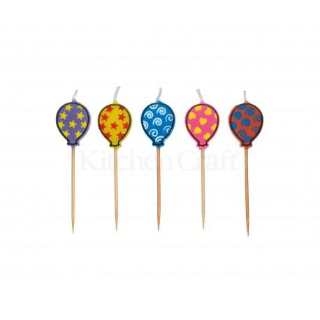 "Bougies d'anniversaire ""ballons de baudruche"""