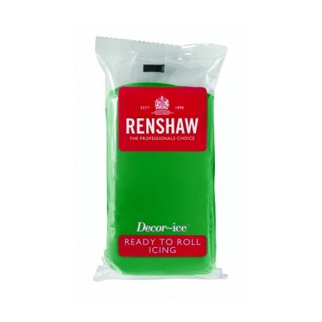 Pâte à sucre 250g Renshaw vert emeraude