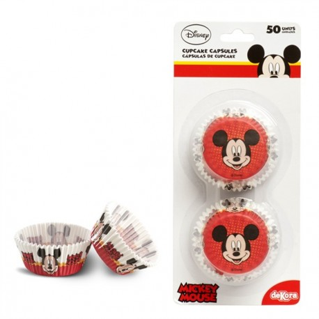 50 caissettes standard Mickey