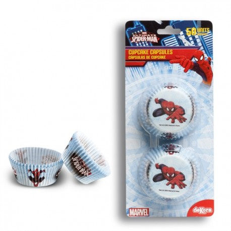 50 caissettes standard Spiderman