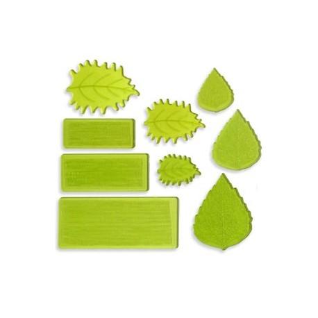 Set de 9 veiners pour feuilles