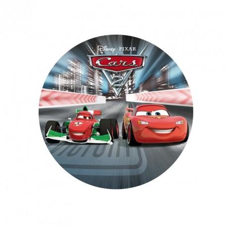 Disque azyme Cars 2 20 cm - Différents modèles