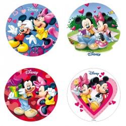 Disque azyme Mickey & Minnie 20 cm - Différents modèles