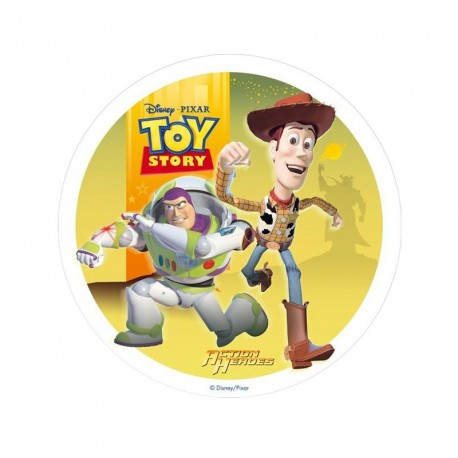 Disque azyme Toy Story 20 cm - Différents modèles