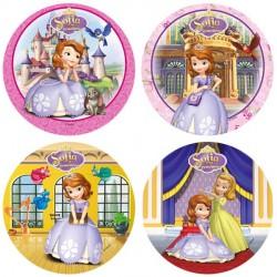 Disque pâte à sucre Princesse Sofia  22 cm - Différents modèles
