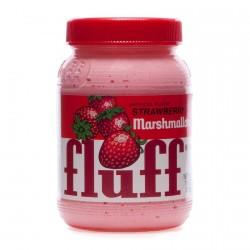 Marshmallow fluff à la fraise
