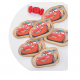 Images comestibles pour biscuits - Cars