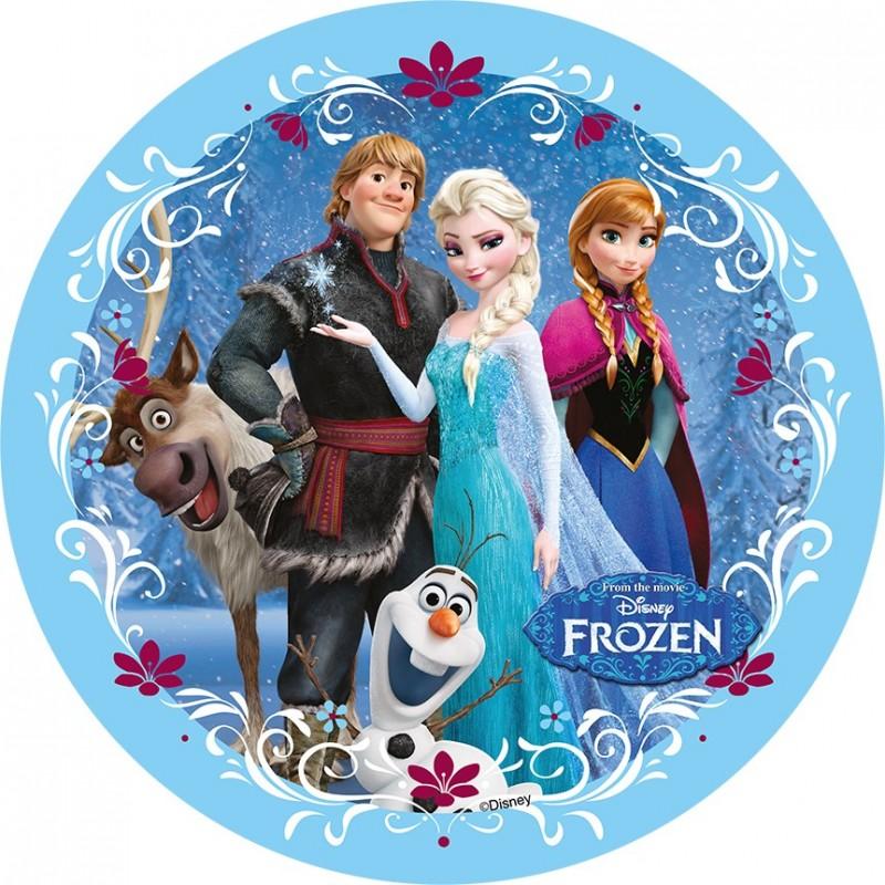 Disque azyme La Reine des Neiges Disney