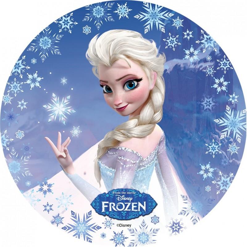 Disque azyme la reine des neiges disney - Rideau la reine des neiges ...
