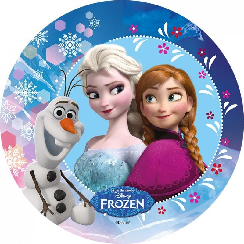 Disque azyme la reine des neiges 21 cm diff rents mod les - Veilleuse reine des neiges ...