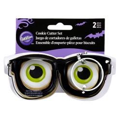 """Emporte-pièce """"lunettes"""""""