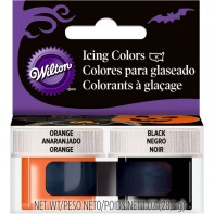 Colorants alimentaires en gel orange et noir