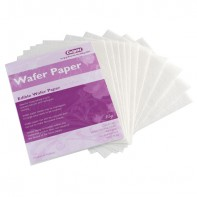 Wafer paper comestible