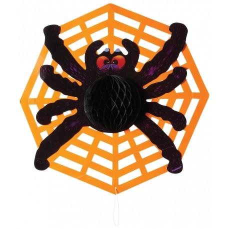 """Décoration à suspendre """"araignée"""""""