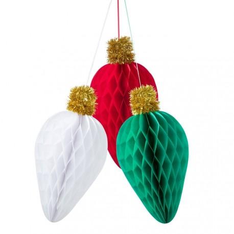 3 Décorations Noël à suspendre