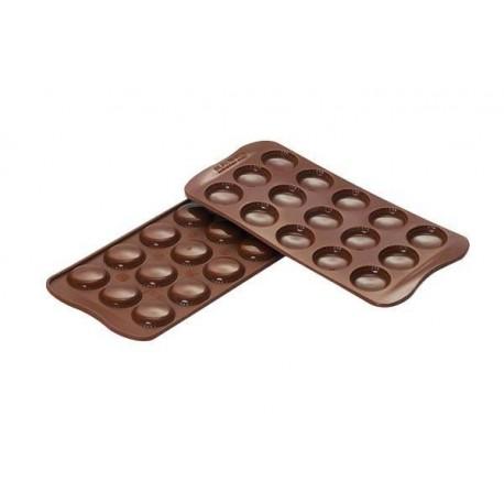 """Moule en silicone à chocolats """"Macarons"""""""