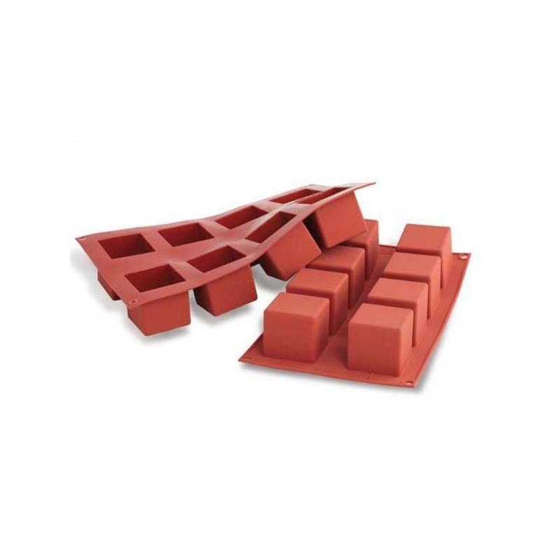 moule en silicone g teau cube. Black Bedroom Furniture Sets. Home Design Ideas
