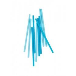 """24 bâtonnets à sucettes """"bleu"""""""