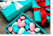 Boîtes et emballages pour confiseries