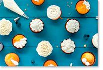 Galçage et nappages pour cupcakes