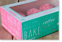 Présentoirs et boîtes à cupcakes