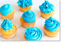 Colorants alimentaires pour cupcakes