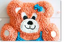 Moule à gâteau ourson