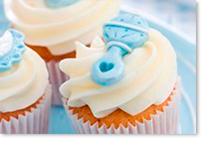 Cupcakes pour une baby shower