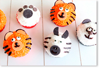 Muffins animaux