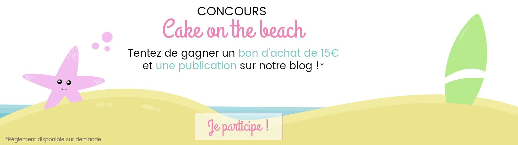 Concours Cake on the beach